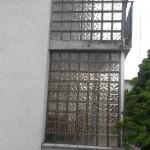 Westseite Terrasse alt