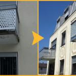 Balkonplatte+Abdichtg.