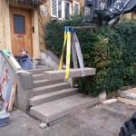 Treppe im Umbau